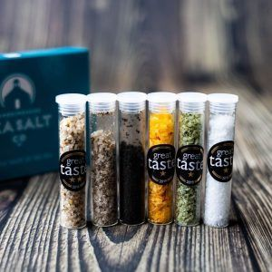 Sea salt gift box, gift for food lovers, Pembrokeshire Sea Salt, salt gift box, gift for foodies
